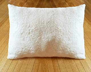 product image for Sherpa Sheets - Ultra Soft Faux Fur Pillowcases - Ivory (Sherpa - 12mm)