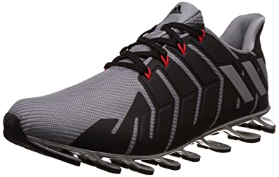 adidas Men\u0027s Springblade Pro M Grey, Silvmt and Cblack Running Shoes - 11  UK/
