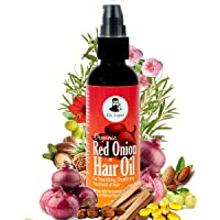 The Legend Organic Onion Hair Oil with 15 Natural Essential Oils (100 Ml)