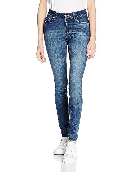 Womens Pcfive Delly Grey/Noos Jeans Pieces xmkVqnlQ