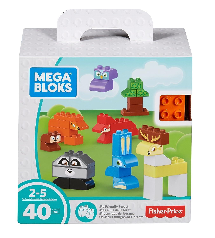 Mega Bloks My Friendly Forest Building Set