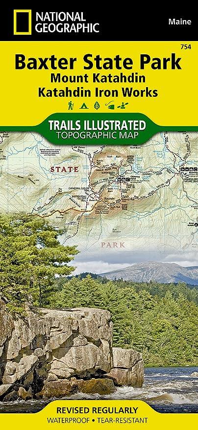 Amazon.com: Baxter State Park [Mount Katahdin, Katahdin Iron Works ...