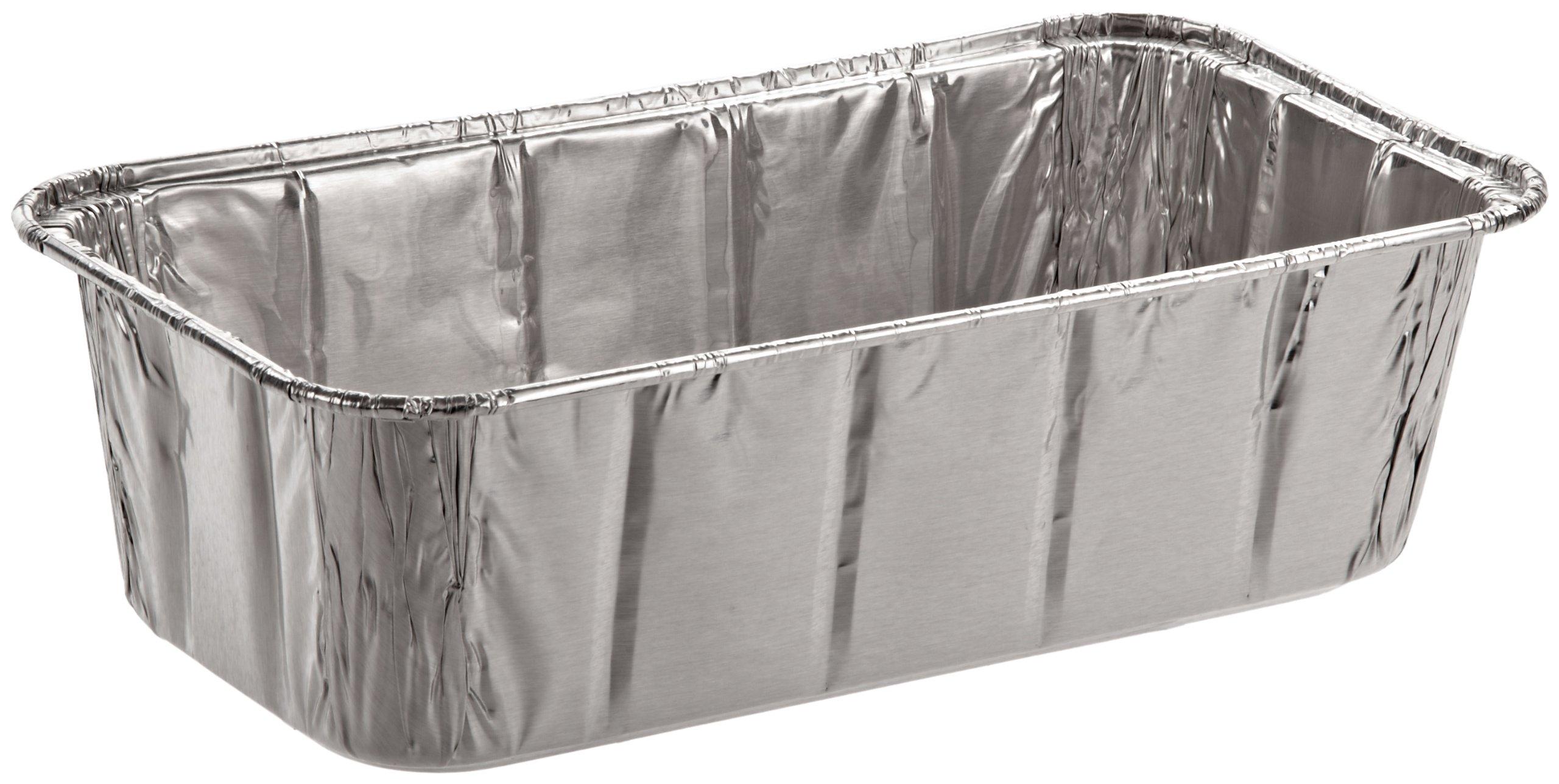 Handi-Foil of America 31630 Aluminum Baking Pan, 2 Loaf, 8w x 3 7/8d x 2 19/32h (Case of 200)