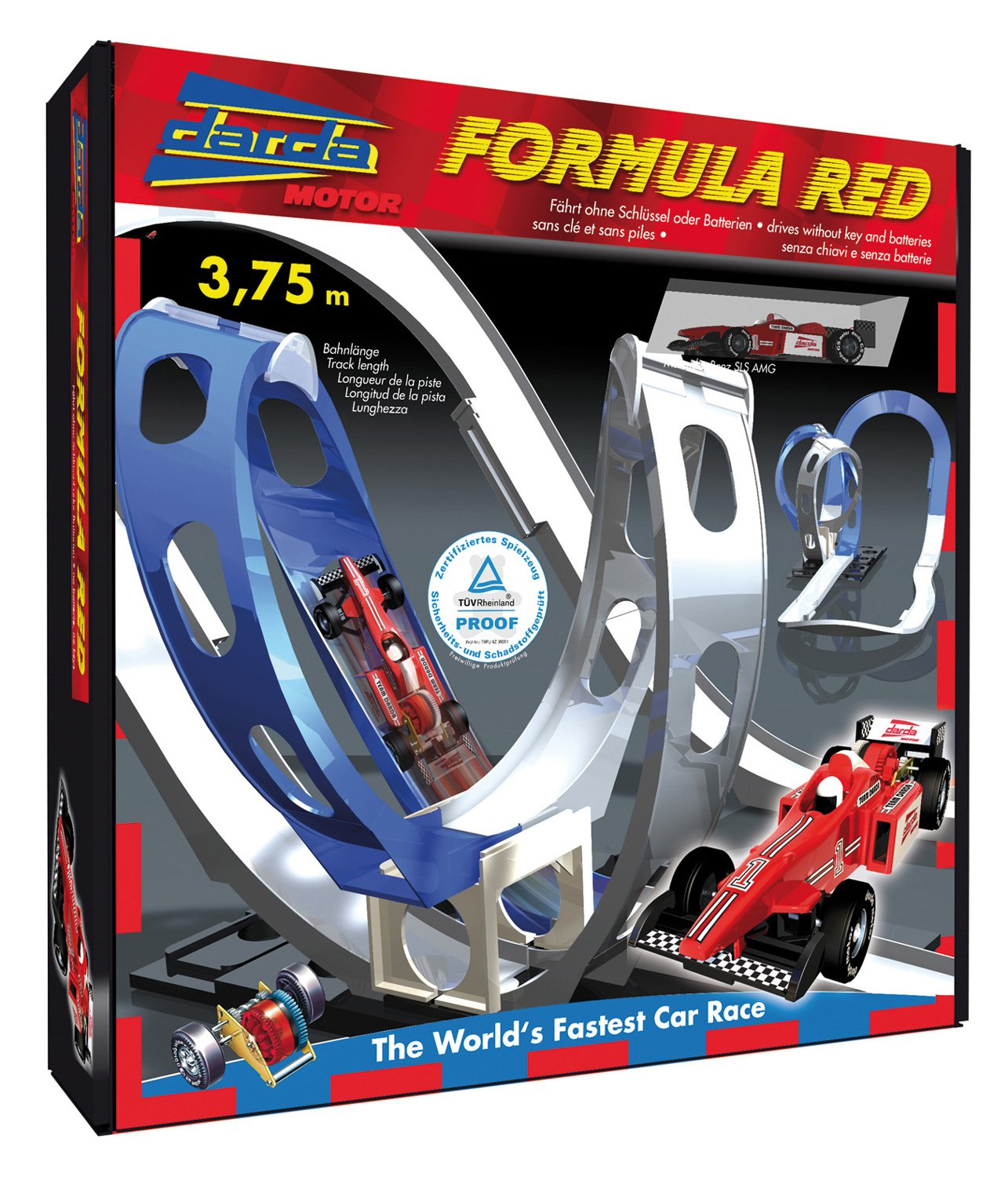 Darda Formula Red circuit