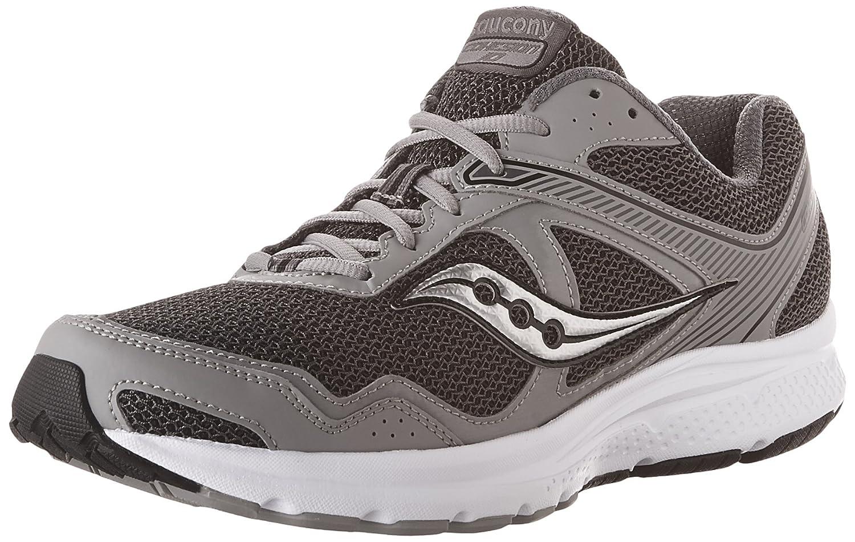 gris   argent 9 E - grand Saucony 25333-2, Chaussures de Fitness Homme