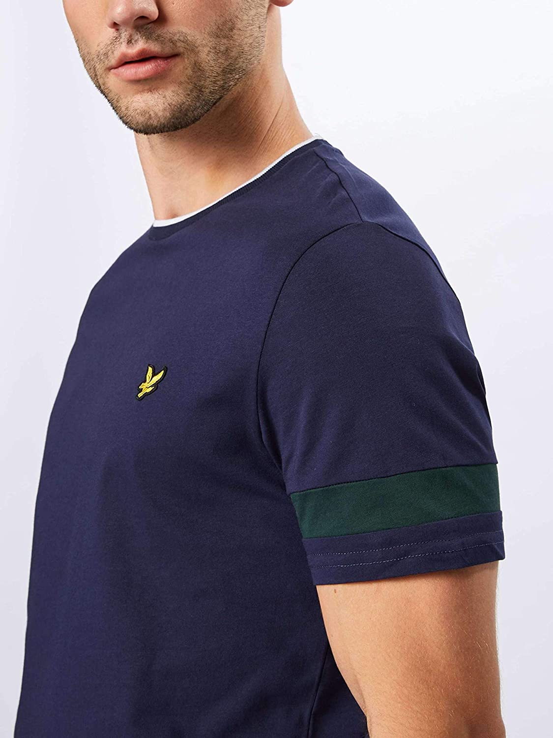 Lyle and Scott Vintage Tipped T Shirt