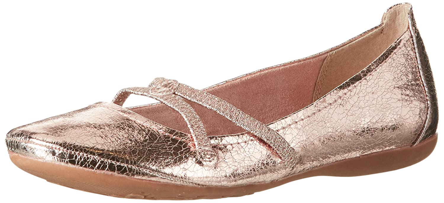 Tamaris Damen 22110 Mary Jane Halbschuhe, Pink (Rose), 36 EU