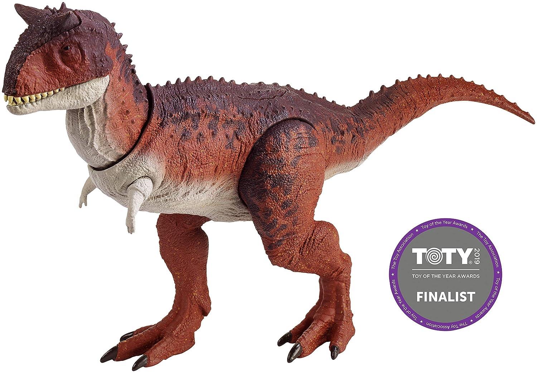 Amazon.com  Jurassic World Action Attack Carnotaurus Figure  Toys   Games 5fa6cee1649