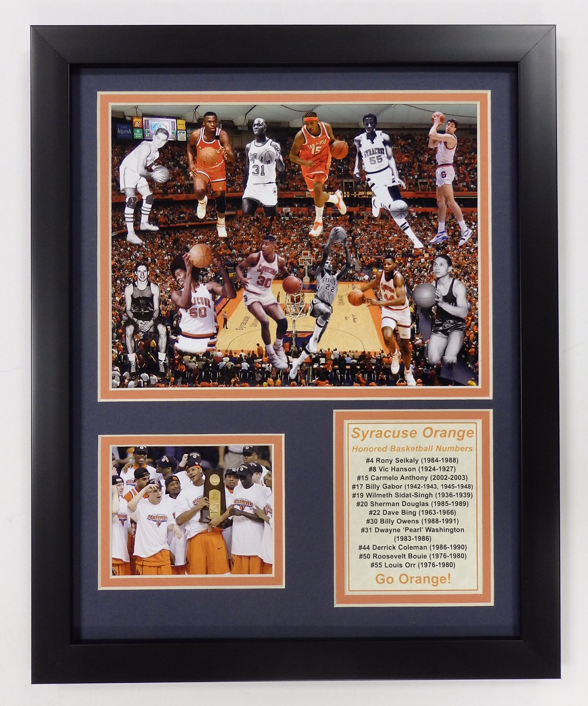 Legends Never Die NCAA All-Time Greats Framed Photo Collage 11 by 14-Inch 12017U