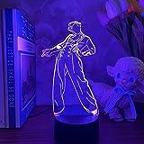 KATA Harry Edward Styles 3D Singer Idol Night Light Harry Styles lamp Gift for Fans Bedroom Decor Light Led Sensor Color Chan