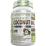 Vegetarian Softgels Organic Coconut Oil Capsules / Pills 2000mg/Serving Virgin Cold Pressed Non GMO for Weight Loss, Extra Hair Growth and Healthy Skin. Source Unrefined Pure Coconut Oil