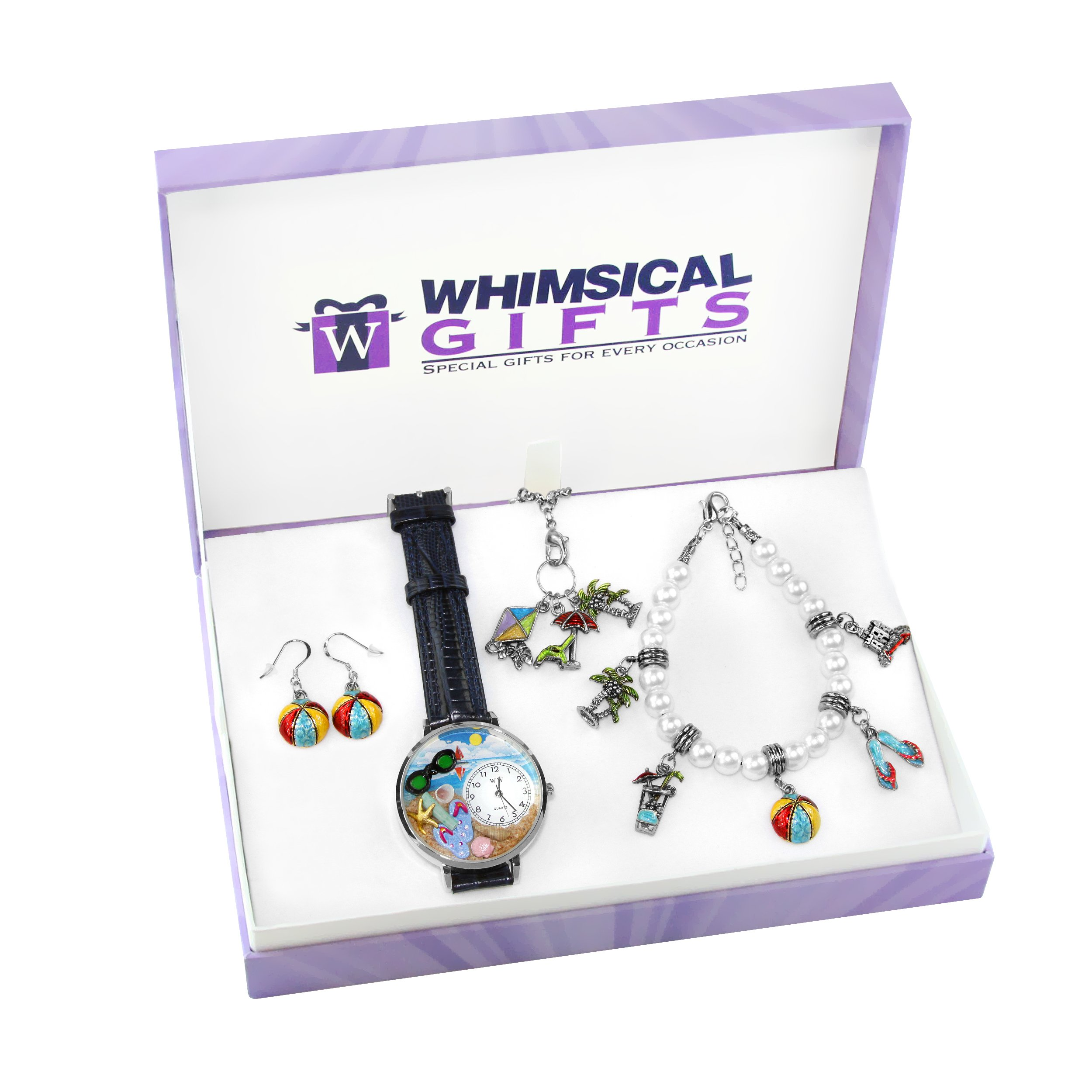 Whimsical Gifts Special Interest Jewelry Sets (Summer Fun, Silver)