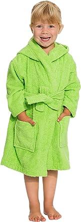 ZOLLNER Albornoz niño y niña con Capucha, algodón, Tallas, 021: Amazon.es: Ropa y accesorios