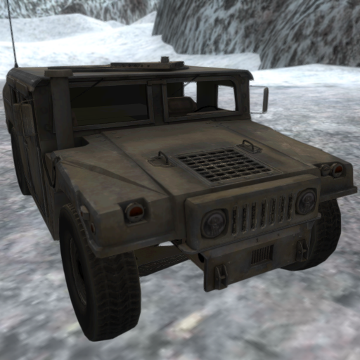 Army 4x4 Snow Driving 3D (Army Games)