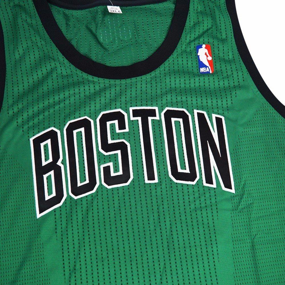 670a2127e3d4 Amazon.com   adidas Boston Celtics NBA Green Official Authentic On-Court  Revolution 30 Alternate Jersey for Men (3XLT)   Sports   Outdoors