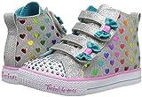 Skechers Kids Girls' Shuffle LITE-Fancy Flutters
