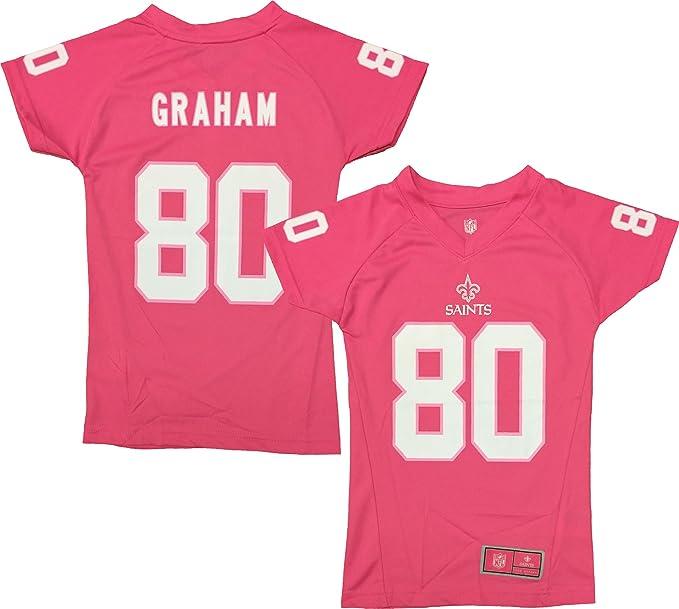 ae447954 Amazon.com: Outerstuff Jimmy Graham New Orleans Saints Pink ...