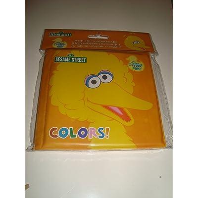 "Sesame Street Big Bird ""Colors"" Bath Time Bubble Book : Bathtub Books : Baby"