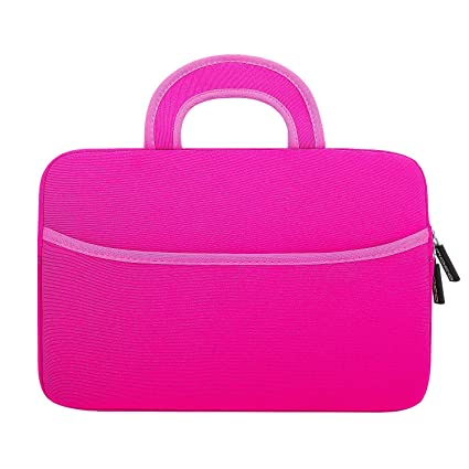 e7da283645477 MoKo Fire HD 10 Inch Kids Tablet Sleeve Case Bag, [Shock-Proof] Zipper  Handle Pouch Portable Neoprene Case Cover for Amazon Fire HD 10 Kids  Edition ...