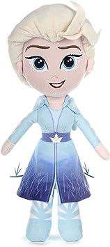Disney 37395 Frozen 2 Elsa - Muñeca Suave (25 cm), Color Azul ...