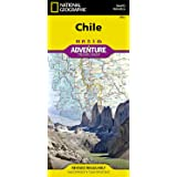 Chile (National Geographic Adventure Map, 3402)
