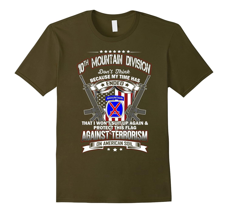 10th Mountain Division Veteran Vintage T-Shirt-Vaci