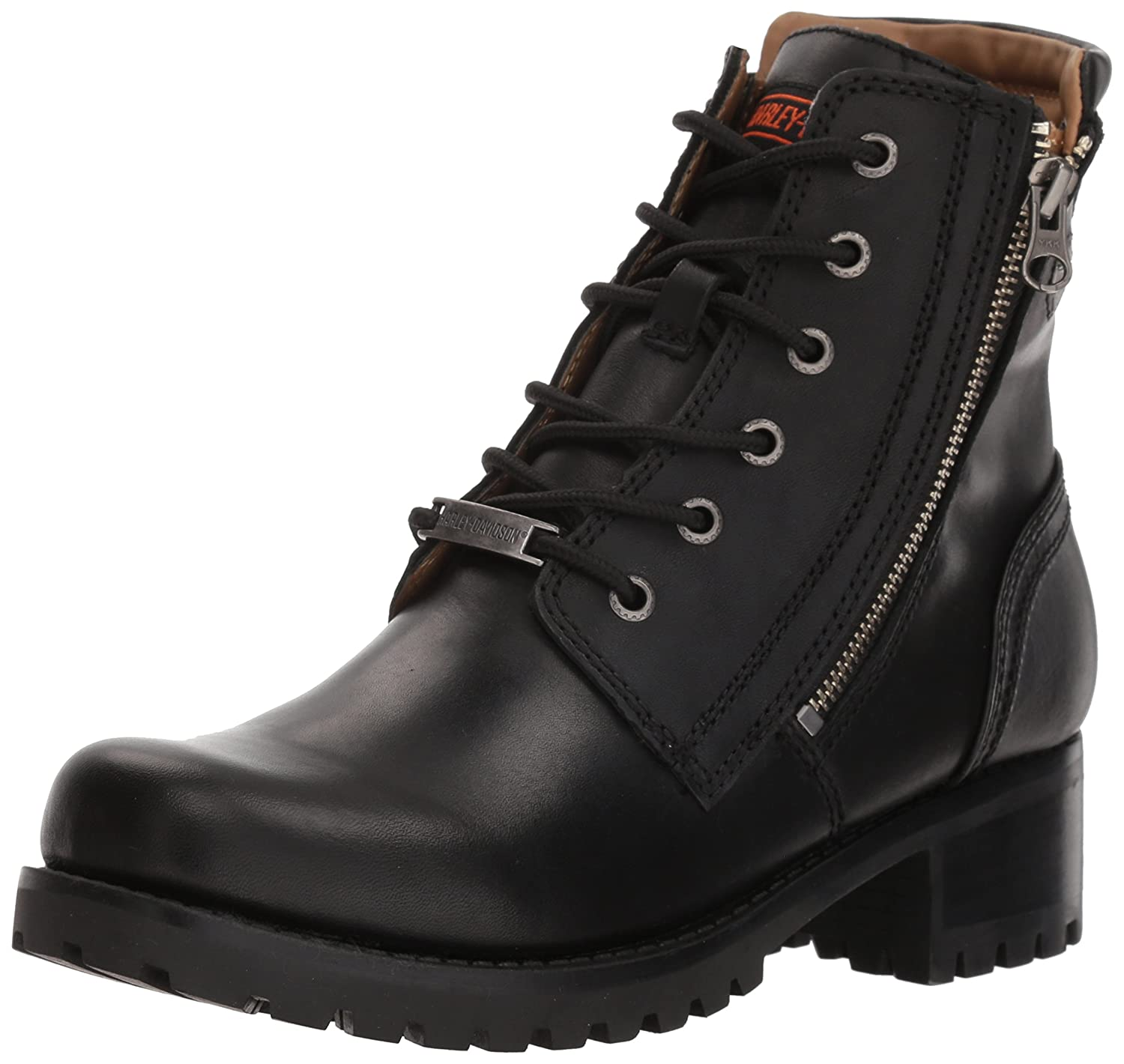 Harley-Davidson Women's Asher Motorcycle Boot B074T9Y3LQ 5.5 B(M) US|Black
