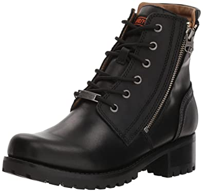 7e7e3c0a7593 Harley Davidson Womens Asher Leather Boots  Amazon.co.uk  Shoes   Bags