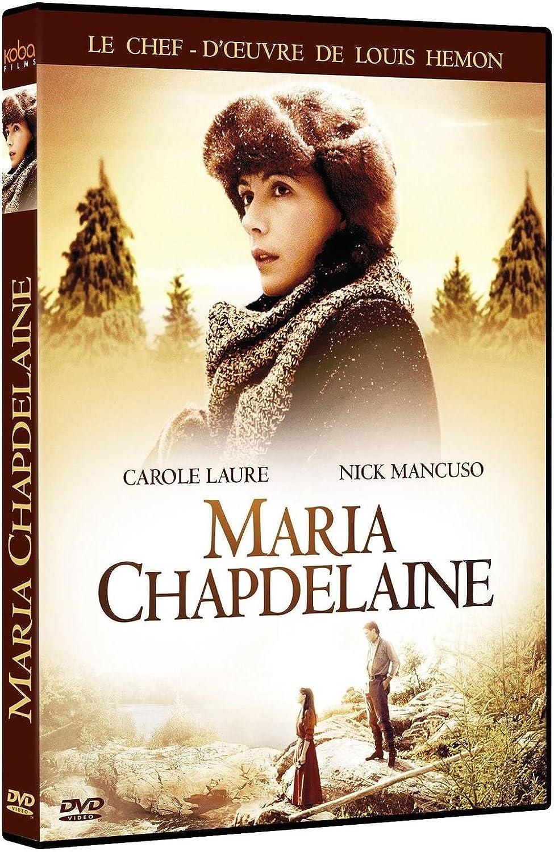 Maria Chapdelaine: Amazon.fr: Carole Laure, Nick Mancuso, Claude Rich,  Amulette Garneau, Yoland Guérard, Pierre Curzi, Gilles Carle: DVD & Blu-ray