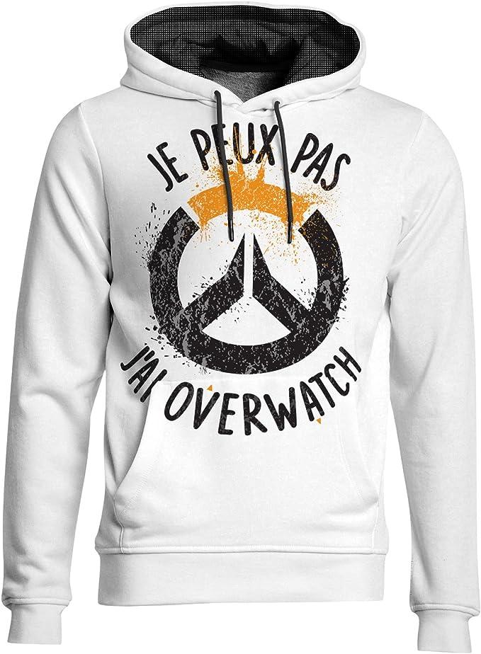 Kanto Factory T-Shirt Overwatch Geek Je Peux Pas JAi Overwatch