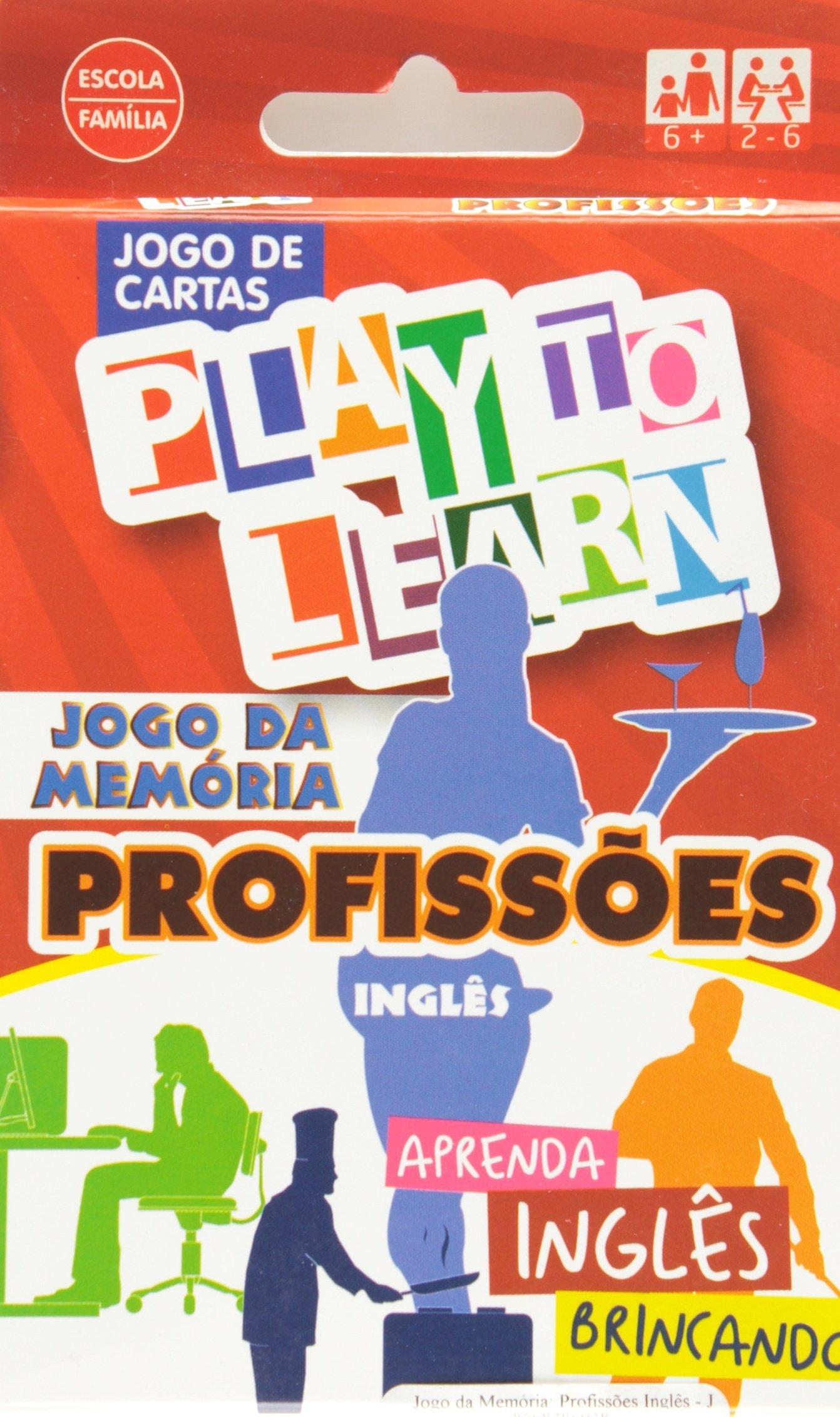 Jogo da Memoria: Profissoes Ingles - Jogo de Cartas ...