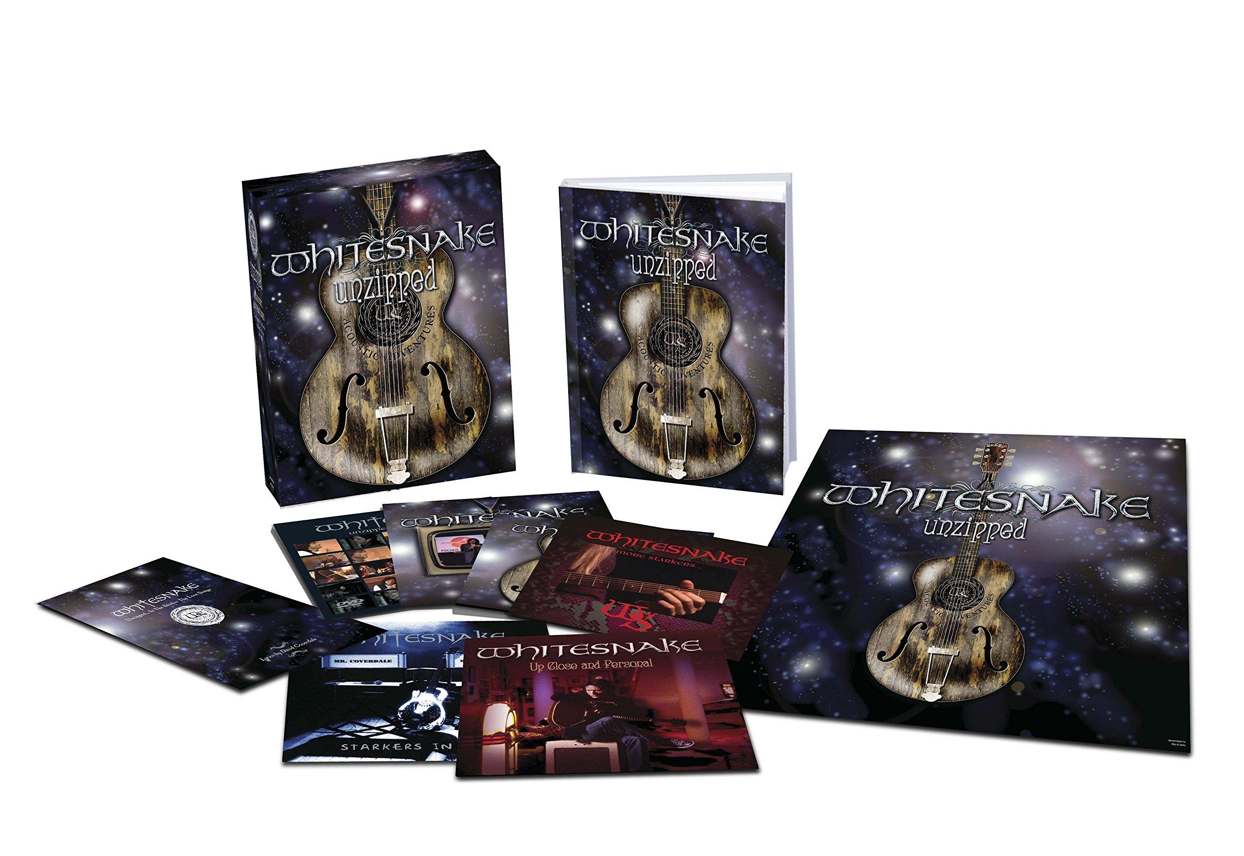 CD : Whitesnake - Whitesnake: Unzipped (super Deluxe Edition)(5cd/ 1dvd) (With DVD, Deluxe Edition)