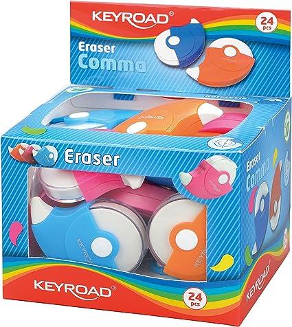 Keyroad KR970990 - Pack de 24 gomas de borrar: Amazon.es: Oficina ...