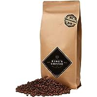 King's Coffee – speciale espresso rooster – fijnste Arabica Robusta Blend – koffiebonen voor volautomaten – 1 kg…