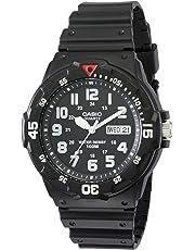 Casio Black Diver Look Analogue  Mrw200H-1B Watch