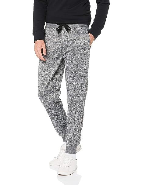 08c4da5091f8c Southpole Men's Basic Fleece Marled Jogger Pant