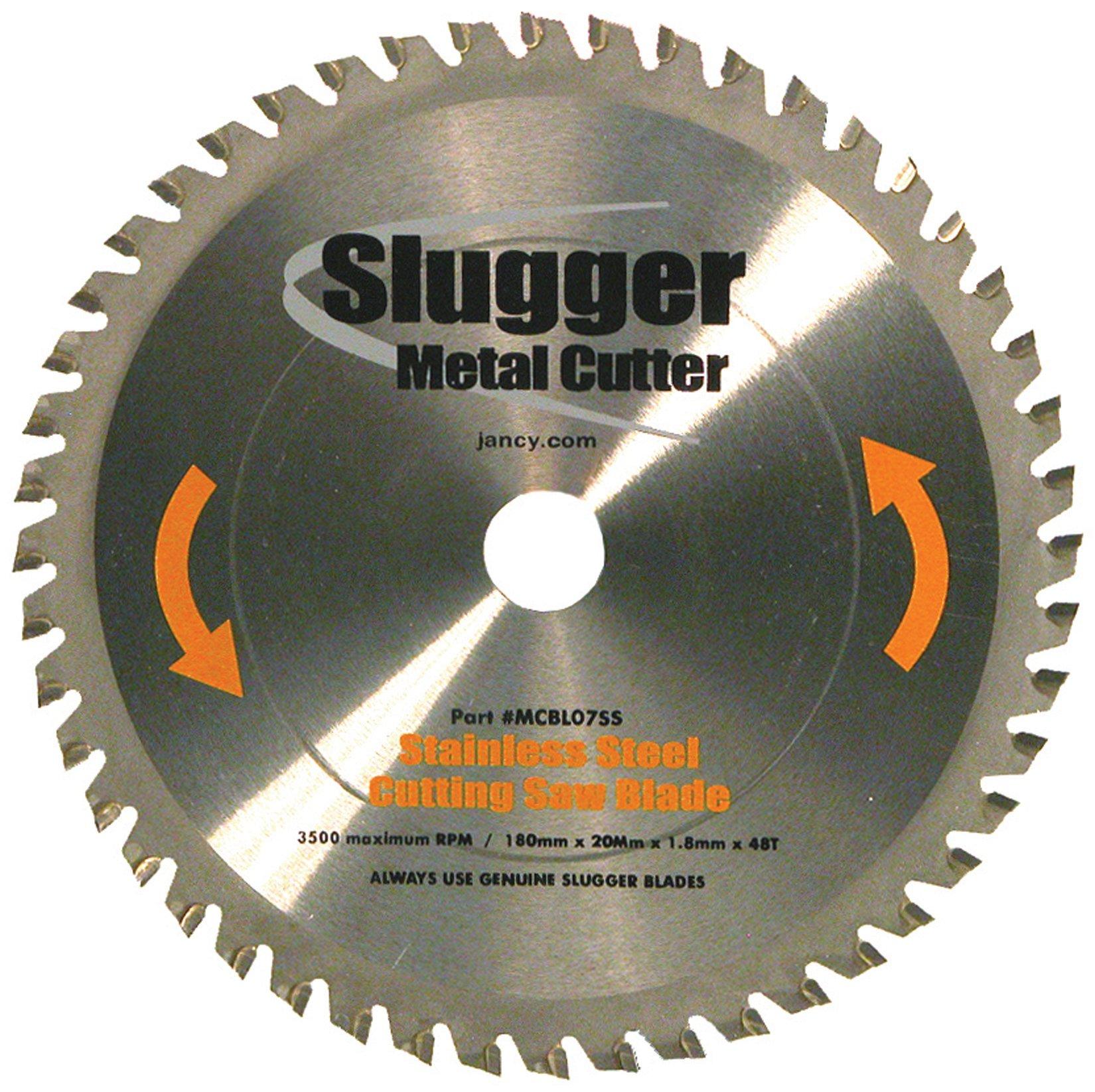Jancy Slugger MCBLO7-SS Stainless Steel Cutting Saw Blade, 7'' Diameter, 48 Teeth