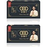 Zed Black 3 In 1 Monthly Pack Incense Sticks - Set of 2