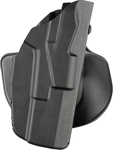 Safariland 7378-450-411 Black STX R//H ALS Open-Top Paddle Holster for SIG P320