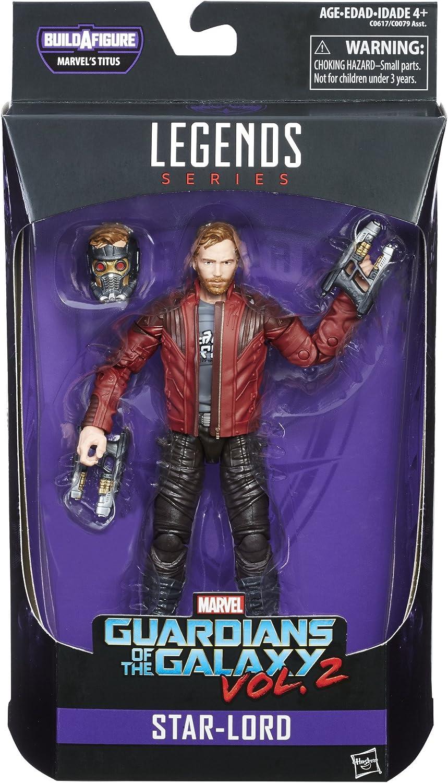 Marvel Legends: Guardianes de la galaxia Vol. 2 - Star Lord 15cm ...