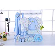 New Born 21 Pieces for Baby Gift Set Boys Very Box Beautiful Baby Boutique Perfect for Baby Shower All Essentials Multicolor