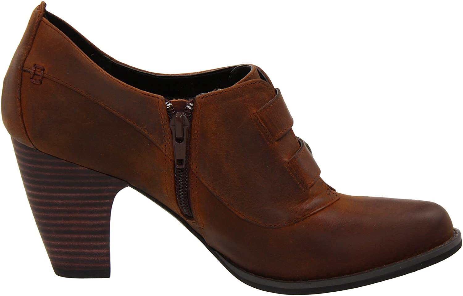 Amazon.com | Clarks Women's Buena Vista Ankle Boot, Brown Oily, 12 M US |  Ankle & Bootie