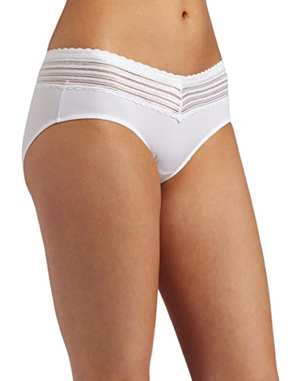 c056b74fefe9 Warner's Womens No Pinching No Problem With Lace Hipster at Amazon Women's  Clothing store: Hipster Panties