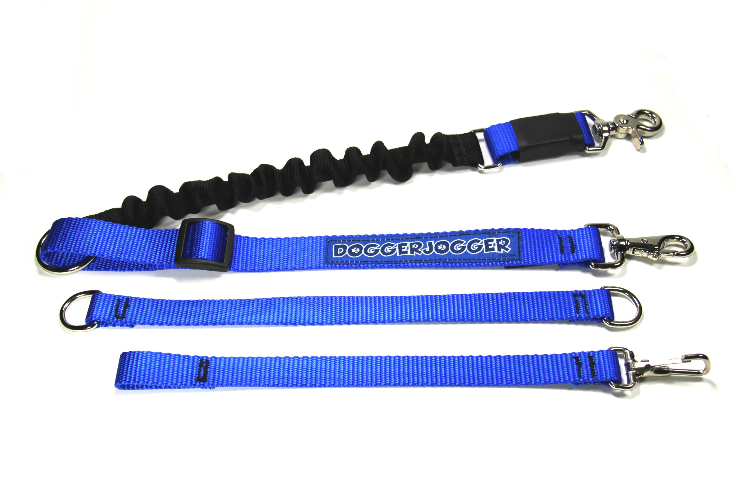 DoggerJogger Bike Dog Leash (Blue)