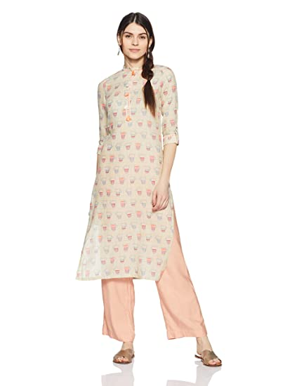 W for Women's Straight Kurta Kurtas & Kurtis at amazon