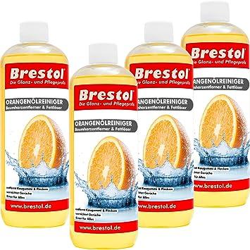 orangenölreiniger 4 x 1000 ml (7339) – Limpiador de Universal de grasa aceite Chicle
