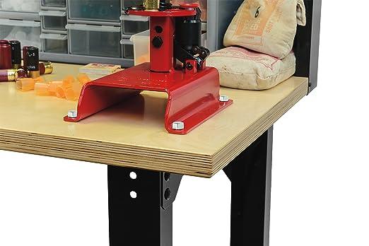Stack On Sorb 48 Adjustable Height Pro Reloading Bench Black