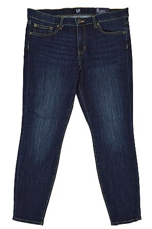 75dddfb3cfe12 GAP Womens 159272 Mid Rise Super Skinny Leg Legging Skimmer Jeans ...