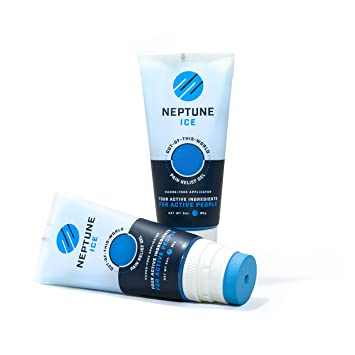Neptune Ice Pain Relief Gel with Lidocaine 4%, Menthol 1%, Camphor 3%,  Dimethicone 3%, Arnica,