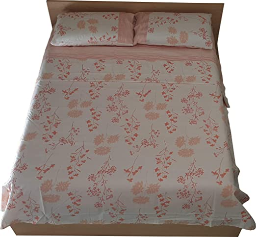 KISENE - Juego de sábanas para Cama Individual o de Matrimonio ...